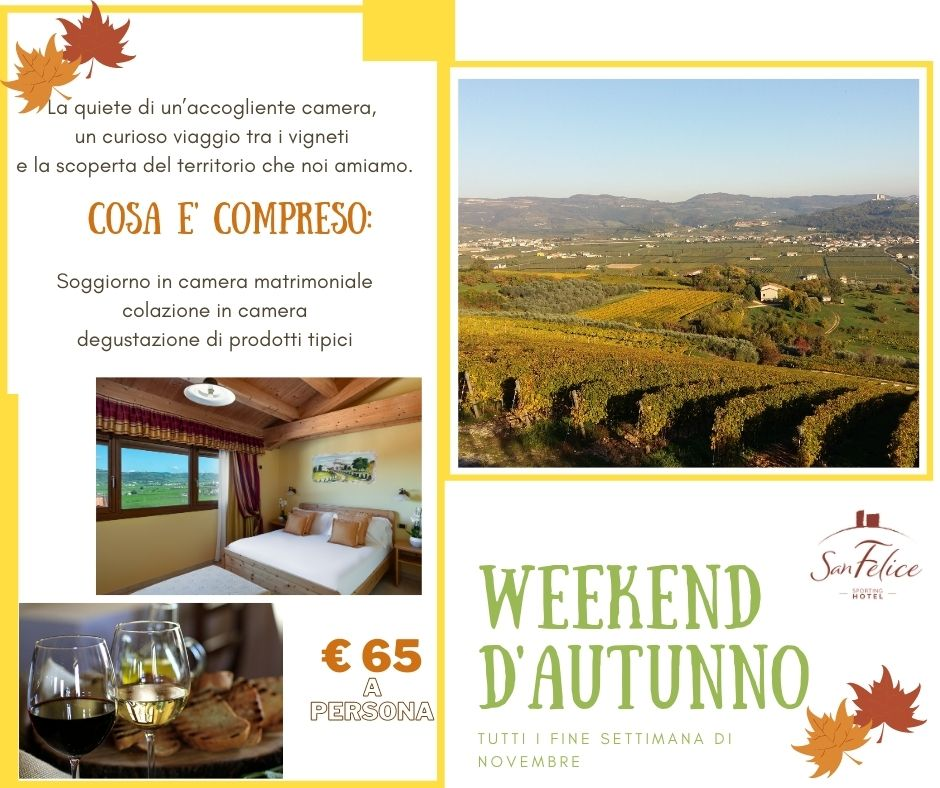 WEEK END AUTUNNO